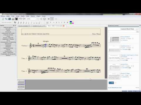 Programa de notacion musical completamente gratuito ( te dejo el link de descarga en la descripcion)