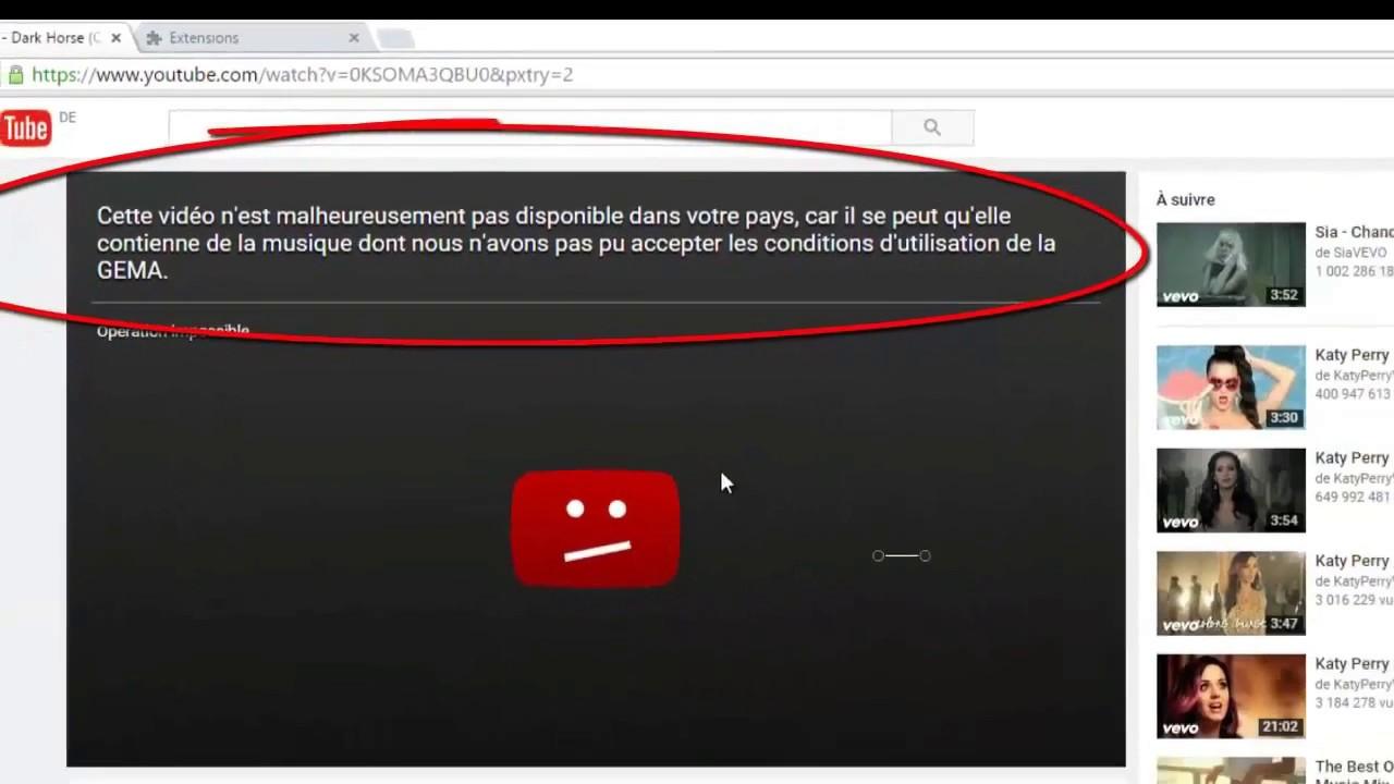 Unblock Video On Youtube
