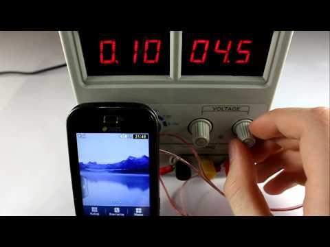 TechnoCrash#28: Samsung B5722: Increase/decrease in energy supply