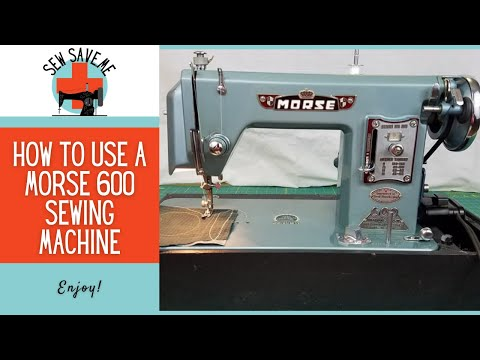 SOLD Morse 600 Vintage Sewing Machine