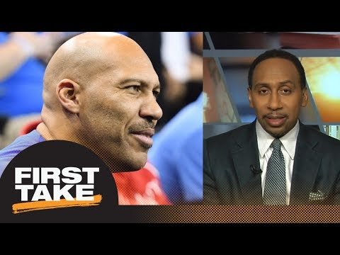 Stephen A. Smith can't love Big Baller Brand league because of LaVar Ball   First Take   ESPN