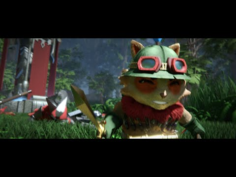 Master Yi vs Teemo - League of Legends Fight Animation