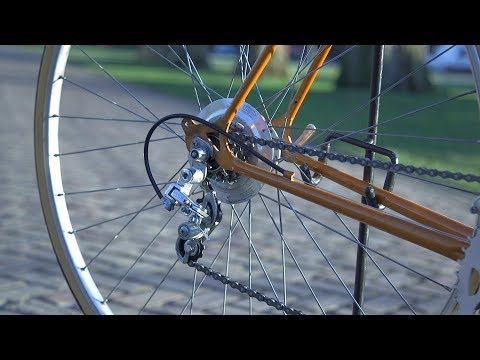 How to Clean And Polish Your Bike's Rear Derailleur with Dremel - EN