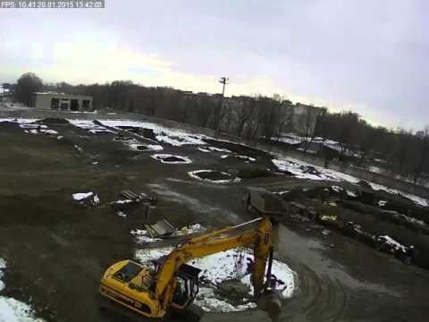 Строительство гипермаркета Карусель в Невинномысске Cam2