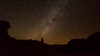 Geminid Meteor Shower 2017 4k Time-lapse (3 nights)