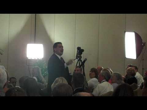 Tea party candidate Alex Snitker filmed by WMNF News 17 June 2010 Sarasota