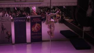 Цыбульская Виктория - Catwalk Dance Fest VIIl [pole dance, aerial] 16.04.17.