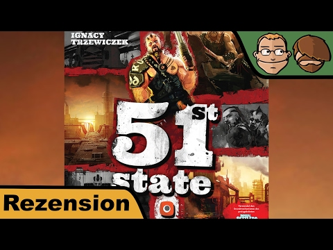 51st State: Master Set - Brettspiel - Review