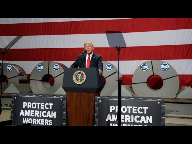 Trump visits Iowa and Illinois amid concern over the administration's tariffs