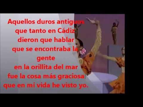 """Tanguillo de Cádiz """"Aquellos Duros Antiguos"""" - Presentación Letra, lyrics y karaoke"""