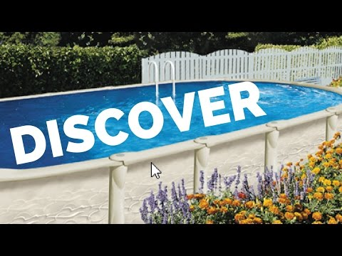 ☑️Discovery Above Ground Pool