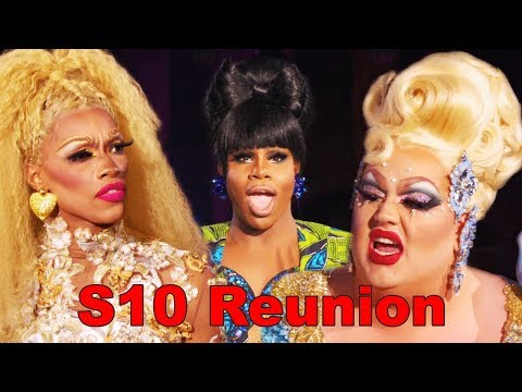RPDR Season 10 Reunion (Edited Boots The House Down Mama Yes Gawd *Tongue Pop*)