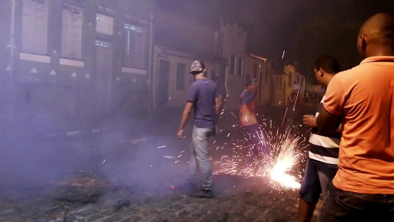 Cachoeira - Guerra de Espadas - 01/07/2018