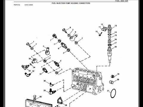 John Deere 4430 Parts Catalog Youtube