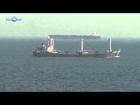 MERCHANT NAVY EL HOSS CARGO SHIP VIDEO