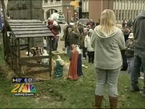 Ellwood City nativity/idolatry on public ground fight