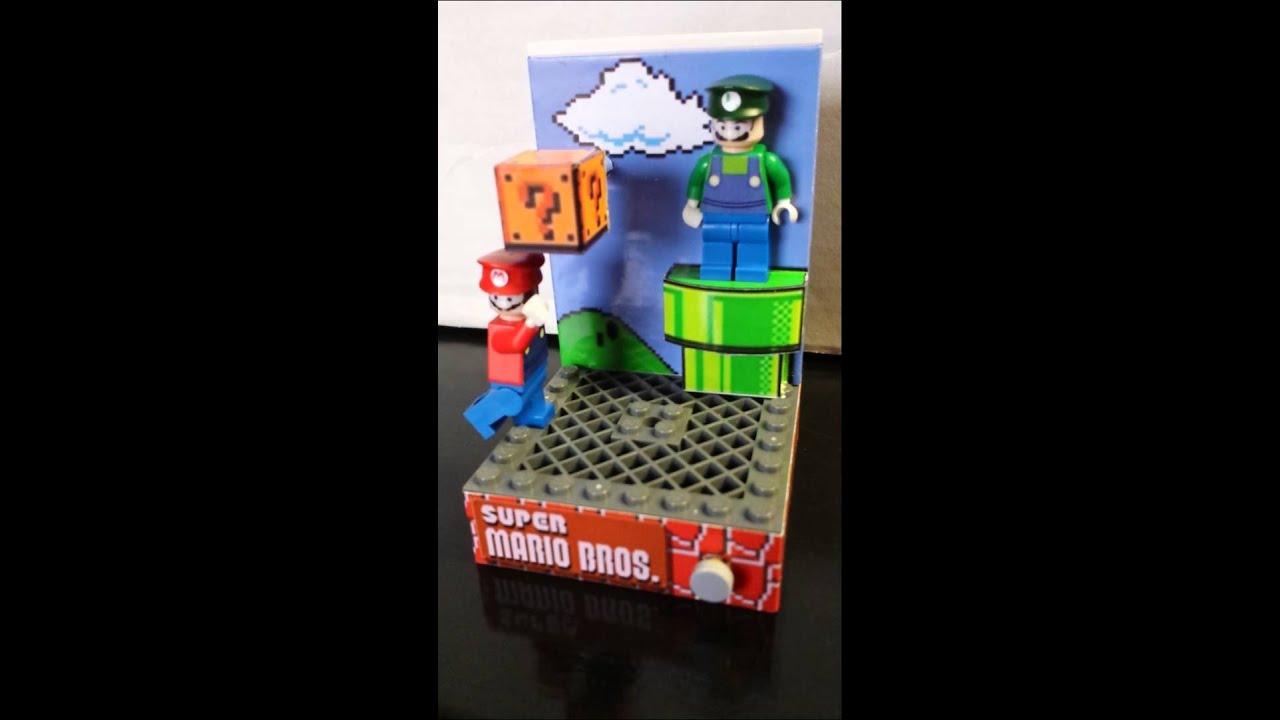 Custom LEGO minifig Super Mario