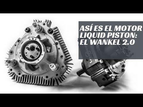 Así es el motor Liquid Piston: el Wankell 2.0