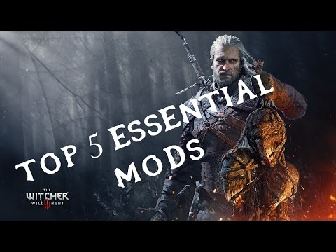 The Witcher 3 - Top 5 ESSENTIAL Mods