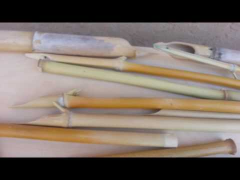 Handmade Bamboo Dip Pens