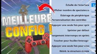 LES MEILLEURS PARAMÈTRES SUR FORTNITE ! TUTO PS4 PC & SWITCH