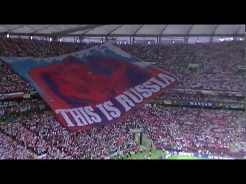 Euro 2012: Poland-Russia. The National Anthem of Russia / Polska-Rosja. Hymn Rosji