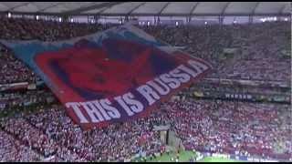 Euro 2012: Poland-Russia. The National Anthem of Russia / Polska-Rosja. Hymn Rosji