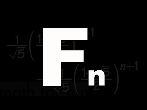 Nth term formula for the Fibonacci Sequence, (all steps included), difference equation