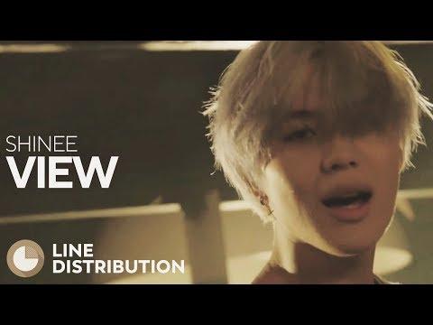 SHINEE - View (Line Distribution)