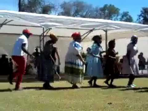 Damara Nama Traditional dance@ UNAM