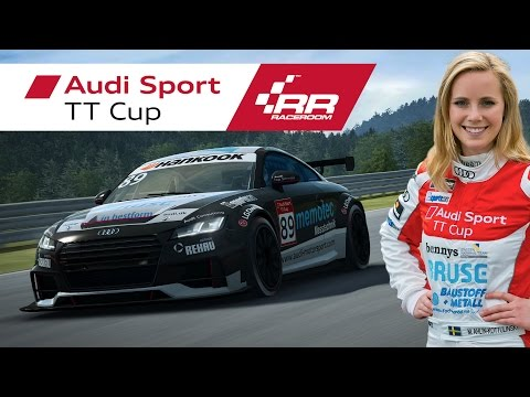 RaceRoom | Audi Sport TT Cup - Physics Development with Mikaela Ahlin-Kottulinsky