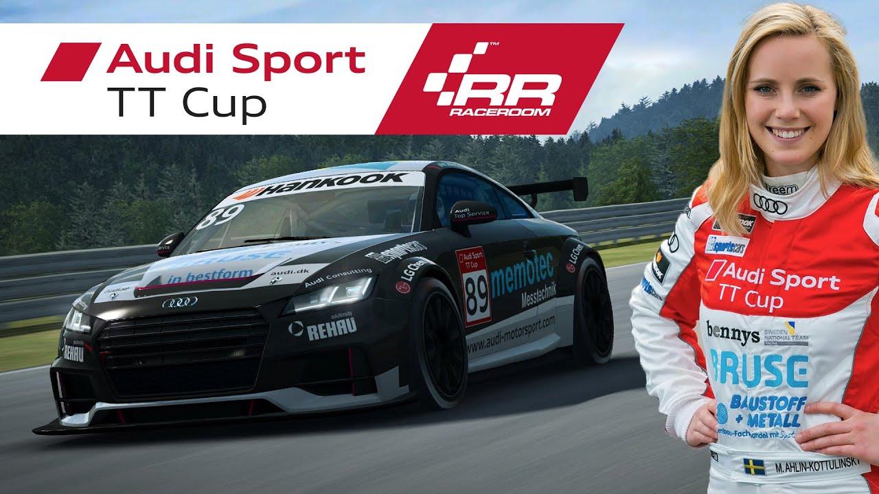 Raceroom Audi Sport Tt Cup Physics Development With