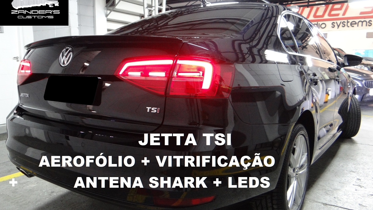 Volkswagen Gli 2017 >> Jetta TSI Aerofólio GLI + Faróis LED + Cristalização e