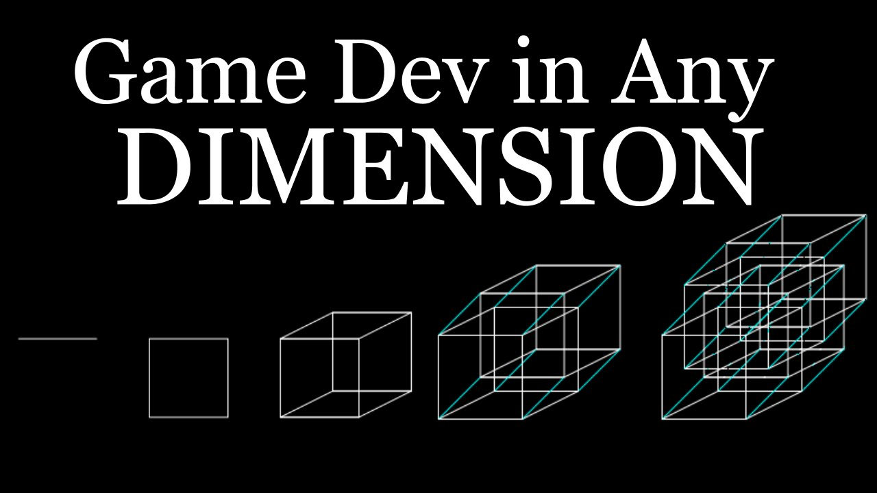 How to Game Dev in Any Dimension by TheHappieCat