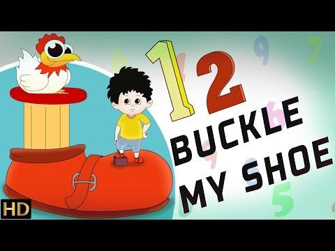 12 Buckle My Shoe HD  Nursery Rhymes  Popular Kids Songs  Shemaroo Kids