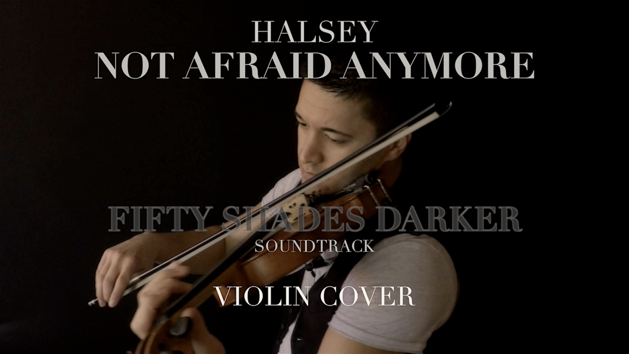 Halsey - Not Afraid Anymore (violin cover) | David ...
