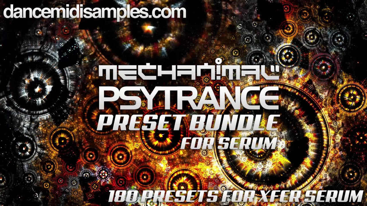Mechanimal - Serum Patches Bundle For Psytrance