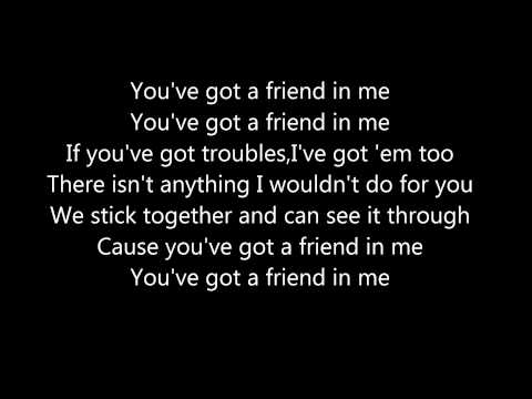 You've Got A Friend In Me By Randy Newman Lyrics