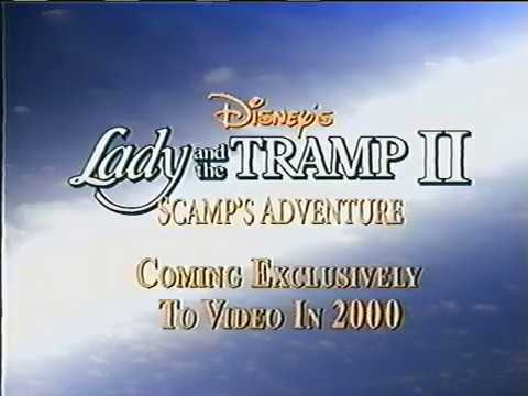Vhs Closing Lady And The Tramp 1998 Masterpiece Collection Print Youtube