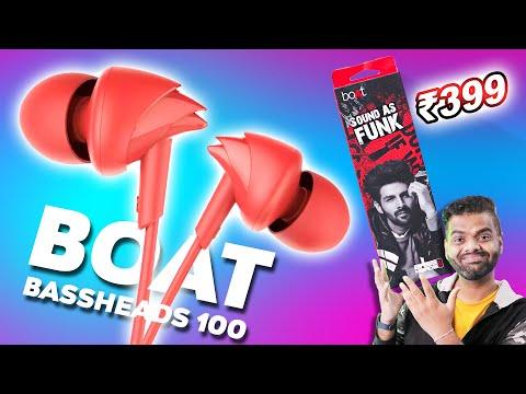 Earphones Under 500 Rs boAt BassHeads 100