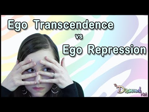 Enlightenment - Ego Transcendence vs Ego Repression - Non Duality Consciousness