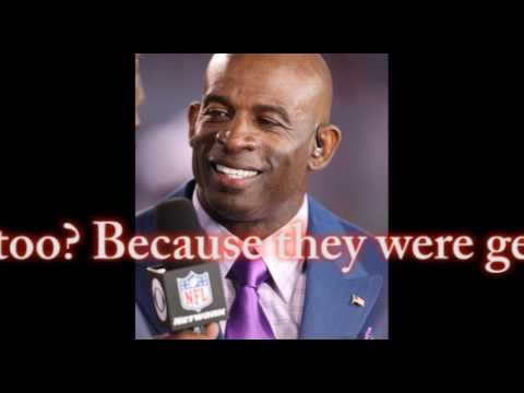 Deion Sanders, Tony Dungy engage in strange debate over