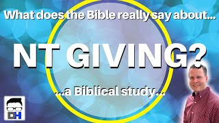 What Does the Bible Say About Giving to the Local Church - (Check out part one on tithing!)