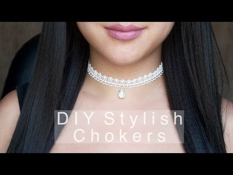 DIY Stylish Chokers