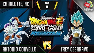 Dragon Ball Super Card Game Gameplay [DBS TCG] Charlotte Regional Top 8