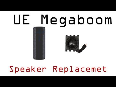 Ultimate Ears UE Megaboom Bad Blown Broken Speaker Driver