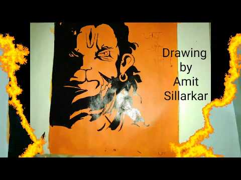 Bajrang Dal Whatsapp Status With Drawing
