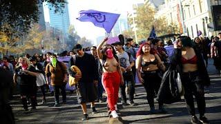 ELLAS HOY: Tomas universitarias contra en acoso en Chile