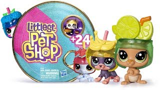 Abrindo Littlest Pet Shop Vending Machine Pack e LPS Hungry Pets Collection