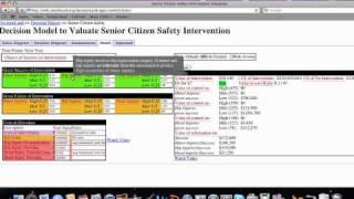 Decision Model For Senior Citizen Safety Interventions